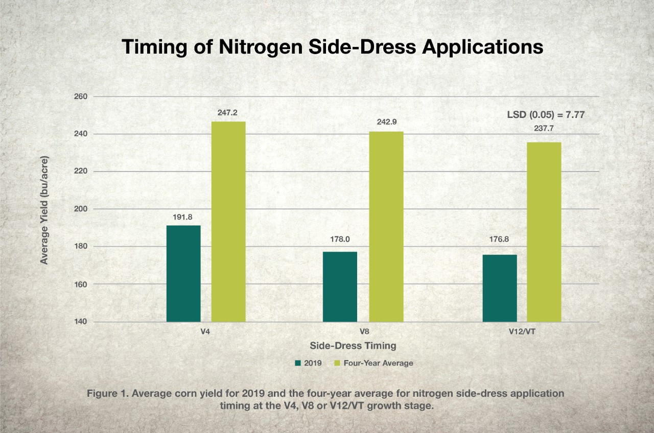 Timing of Sidedress Application