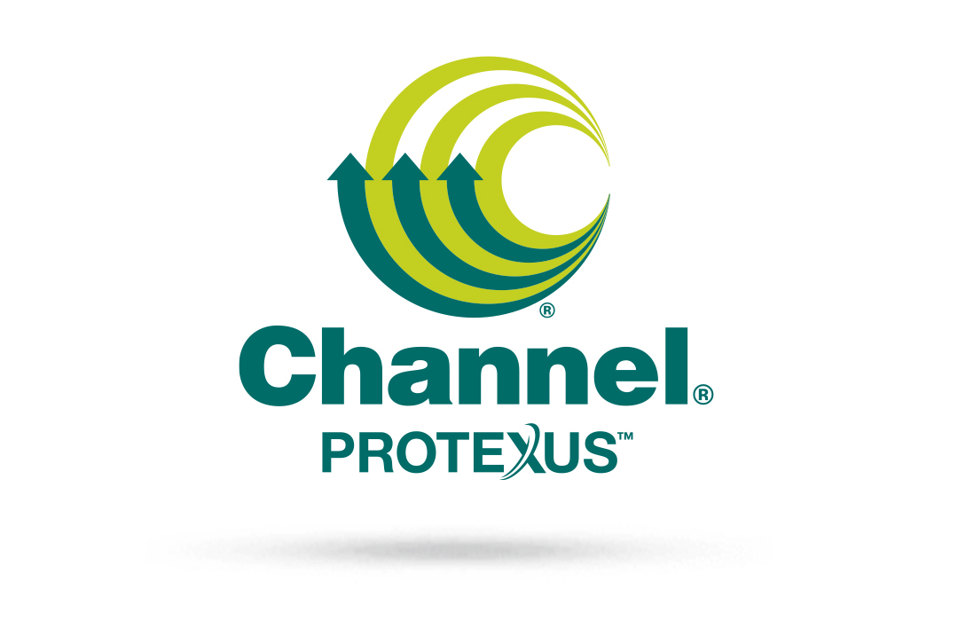 Official Protexus Logo with drop shadow for Channel website