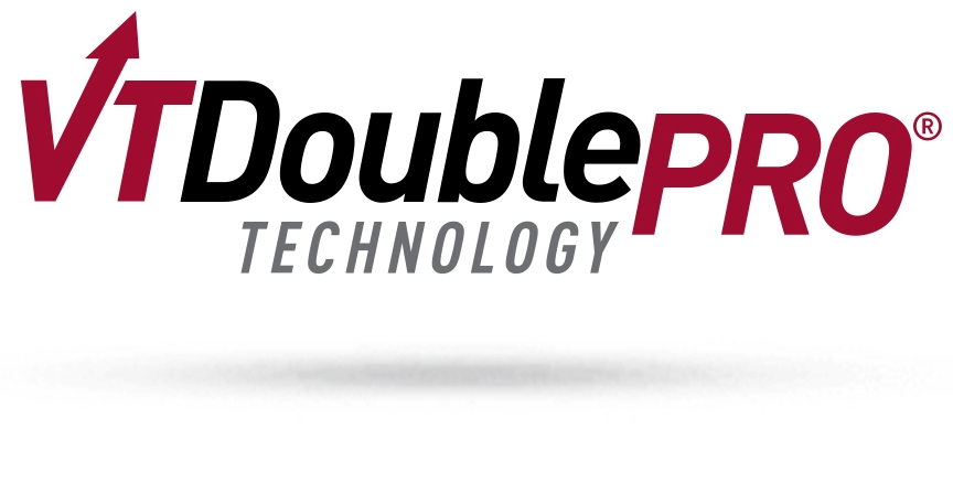 Official VT Double Pro Technology logo for Channel Website